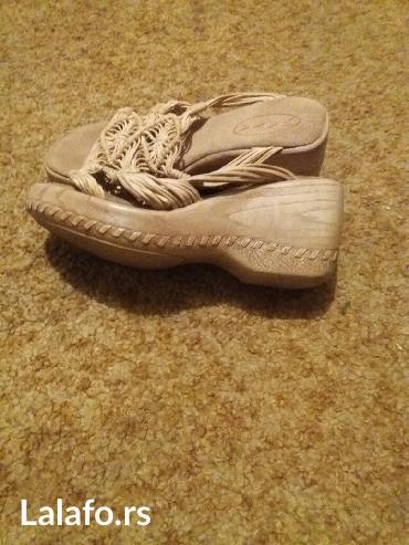 Kozne papuce samo jednom obuvene... Kupljene u inostranstvu... Broj - Vrnjacka Banja - slika 2