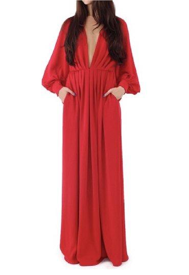 красное длинное платье в пол в Кыргызстан: Платье CHLOE красное длинное на подкладе, в пол. Покупала на