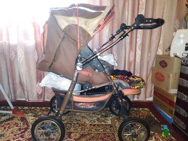 Детский мир - Джалал-Абад: Коляска 2000сом,Манеж большой 3000сом,Манеж с укачиванием маленький