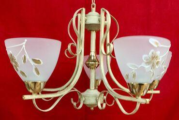 5 lampalı listura çilçıraq