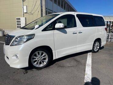 наклейки на авто надписи на заказ in Кыргызстан   АВТОЗАПЧАСТИ: Toyota Alphard 3.5 л. 2010   88000 км