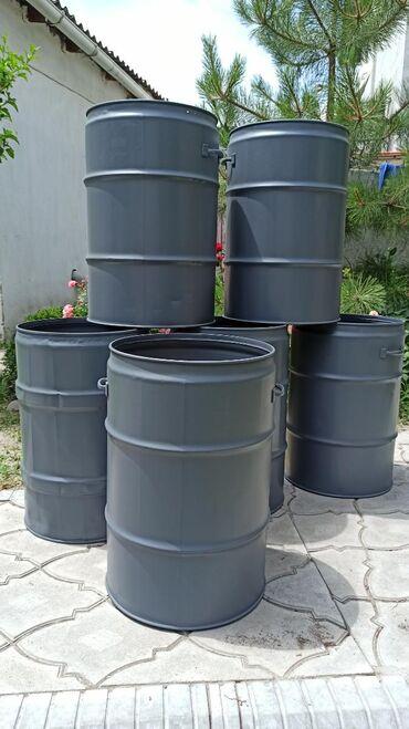 Бочка-для-молока - Кыргызстан: Мусорный бак, мусорка, урна, бак для мусора, железные баки высота -