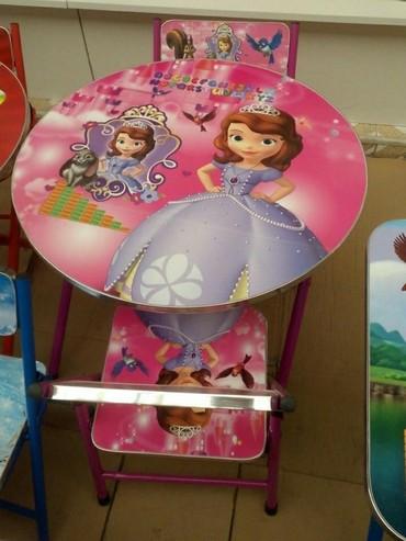 Детский мир в Тауз: Teze uşaq stol stul dest,oğlan üçün de var,müxtelif modeller ve qiymet