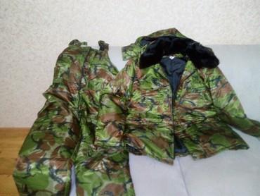 Другая мужская одежда в Бишкек: Продаю зимнии спец костюм,новый, произ- ль Россия, сшито по