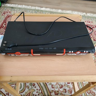 video-cassette-player в Кыргызстан: Срочно! Продам DVD player! состояние нового! Всё работает! Цена