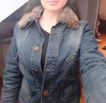 Nova teksas jakna caliope m sa slatkim dugmićima - Beograd