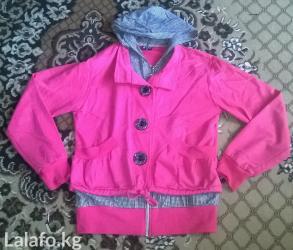 джинсова курточка в Кыргызстан: Состоянии отличное! 44р.Посмотреть можете район Старого автовокзала