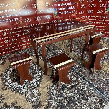masa və stul - Azərbaycan: Masa və oturacaqlar