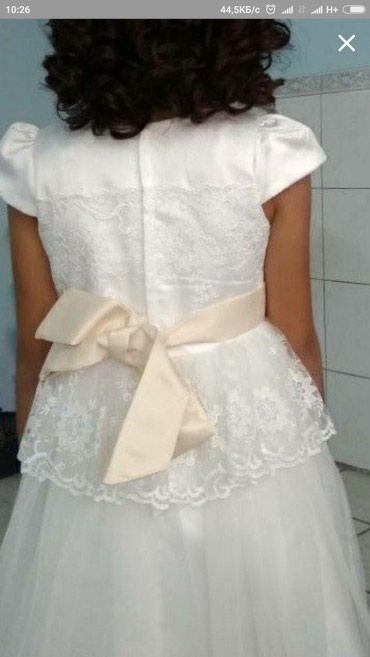 Платье нарядное, на 8-10 лет ,б/у ,состояние отличное,  ,, в Бишкек