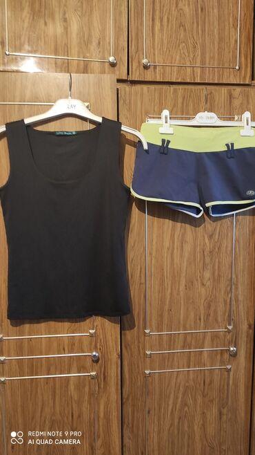 Шорты - Бишкек: Майка женская и шорты. Две за 100сом