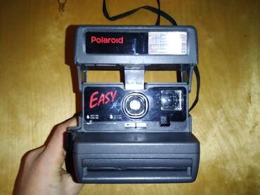 Fotoaparatlar - Lənkəran: Polaroid esay 600 1993 cu ilde alinib sekli ceken kimi cixardir 1