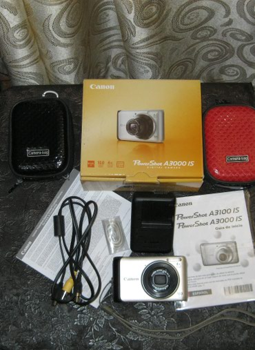 Canon 2 шт за 5500 PowerShot A3000 IS, в одной в Бишкек