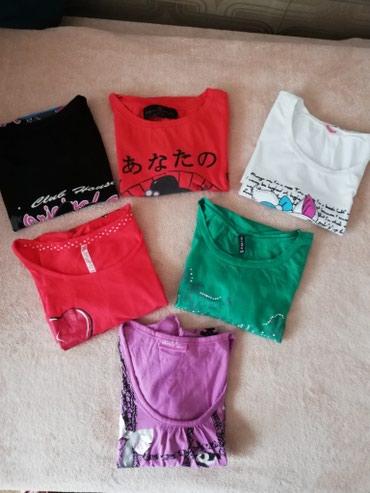 6 majica za 900 dinara odgovaraju sve S velicini. Zara, Fishbone, - Novi Sad