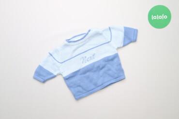 Топы и рубашки - Голубой - Киев: Дитячий светр Next    Довжина: 25 см Ширина плечей: 19 см Рукав: 16 см