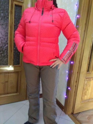 Костюм лыжный, адидас. Куртка пуховик в Кара-Балта