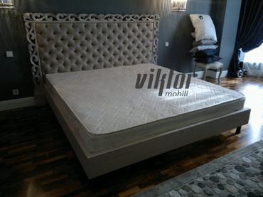 Кровать с резной спинкой в Бишкек
