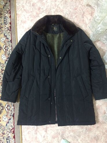 veshhi v otlichnom sostojanie в Кыргызстан: Тёплое пальто -куртка (Турция) с мехом. Внутри и воротник
