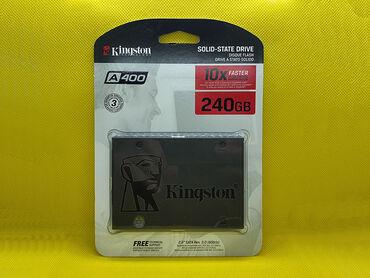 SSD Kingston A400 256Gb Təmiz original, bağlı qutudasatış