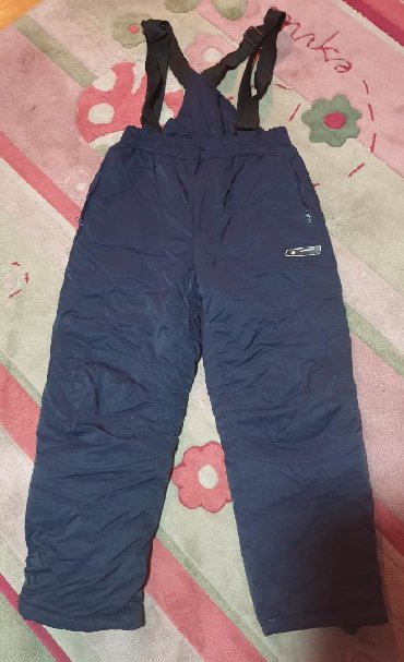 Farmerke struk visoki - Srbija: Ski pantalone. Imaju tregere. Kao skafander. Teget boje, pise 16 god