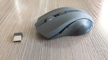 беспроводная мышка. новая. удобно лежит в руке. с кнопкой настройки чу в Бишкек