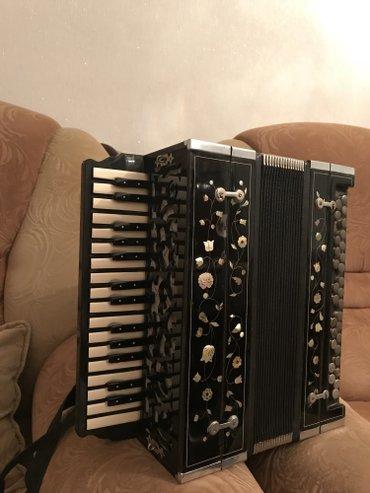 Gəncə şəhərində Original karpuşkin qarmon 1933 cu il. Grundic 31 mikrafon, ses- şəkil 3