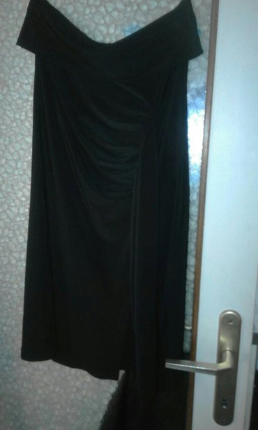Crna mini top haljina velicina S - Obrenovac