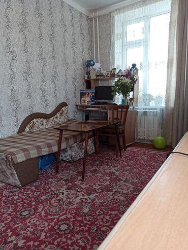 Продажа квартир - Бишкек: Хрущевка, 1 комната, 30 кв. м Бронированные двери, С мебелью, Парковка