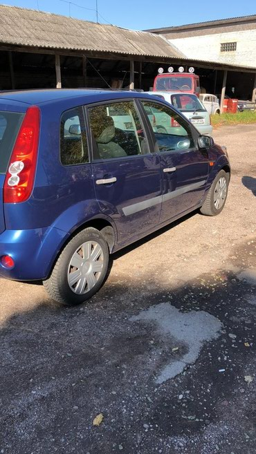 Ford Fiesta 2007 в Бишкек