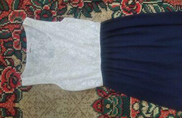 Личные вещи - Чалдавар: Платье, вечернее красивоеВерх белого цвета с узорами, а низ
