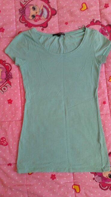 Pantalone tally weijl sa elastinom - Srbija: Majica Tally weijl, S veličina, pamuk sa elastinom. Mint zelena boja
