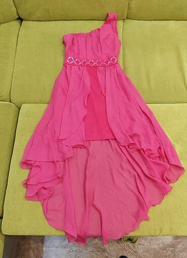 длинные вечерние платья в пол в Кыргызстан: Красивое нежное платье ярко-розового цвета, сшитое на заказ