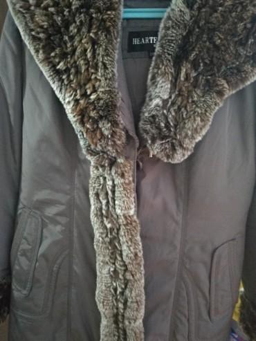 Куртка теплая женская с подкладкой в идеальном состояние одевали