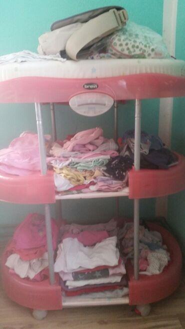 Stalak za bebe,za presvlacenje I kupanje. cena 2000din