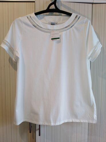 белое платье для беременных в Кыргызстан: Кофта белая с бусами