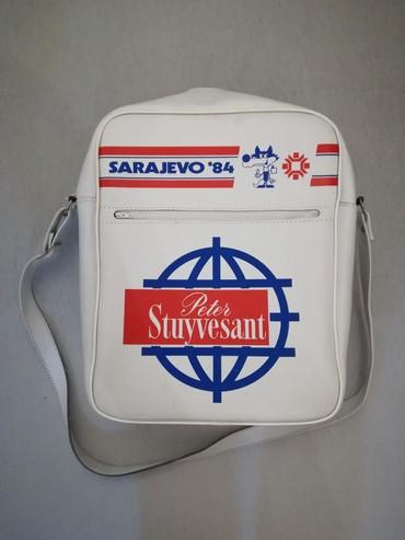 Sport i hobi   Nis: Torba sa otvaranja zimske olimpijade u Sarajevu 1984, u odlicnom