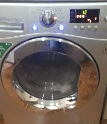 Bakı şəhərində Öndən Avtomat Washing Machine LG 6 kq.- şəkil 2
