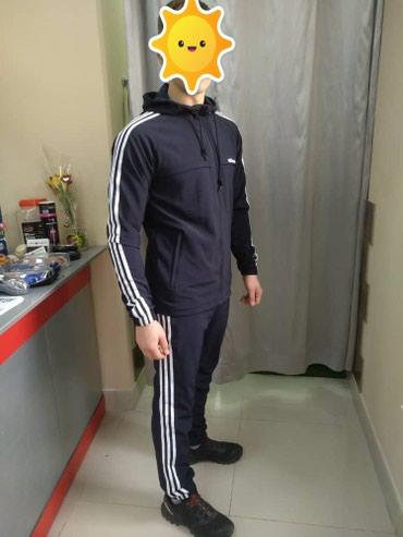 Спортивный костюм ADIDAS с контрастными в Бишкек