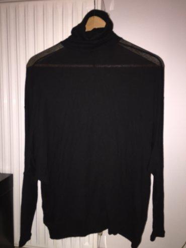 Μαύρη μπλούζα από λεπτό μάλλινο σε Υπόλοιπο Αττικής