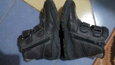 Dečije Cipele i Čizme | Vrbas: Plitke čizmice broj 34 sa krznom, nove, par puta obuvene, kopčanje na