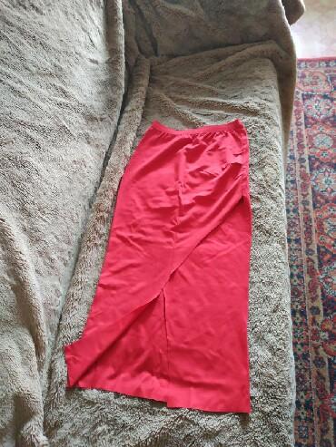 юбки из плотного трикотажа в Кыргызстан: Юбка тонкий трикотаж, 44-46 размер 200 сом, в хорошем состоянии