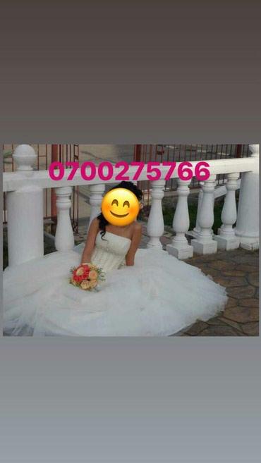 Сдаю свадебное, дизайнерское платьe, в Бишкек