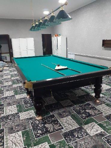 Бильярдные столы в Кыргызстан: Установка продажа итд
