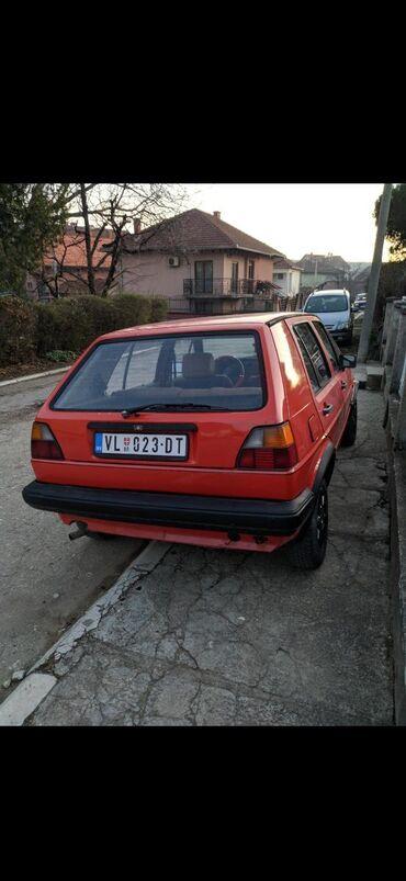 Manuel - Srbija: Volkswagen Golf 1.3 l. 1985   29999 km