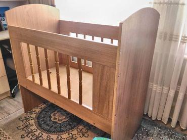 Кроватка детская,  пользовались три в Бишкек