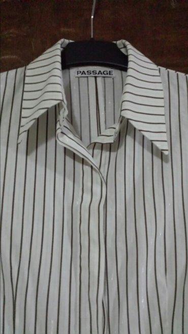 Svečana, elegantna, markirana košulja sa srebrnim nitima, l - Velika Plana