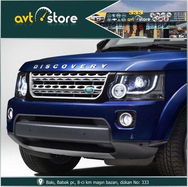 Bakı şəhərində Land rover disqavery 3 yeni model ön radiator barmaqlığı disqavery