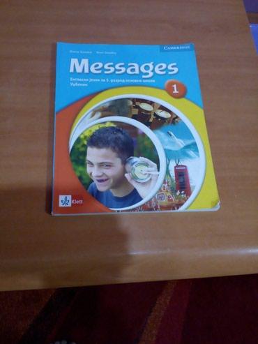 Udzbenik-engleski jezik Messages za peti razred OŠ, Klett.Knjiga je - Novi Pazar