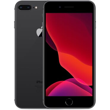 IPhone 8 Plus | 64 ГБ | Черный (Jet Black) | Б/У | Отпечаток пальца, Беспроводная зарядка, С документами
