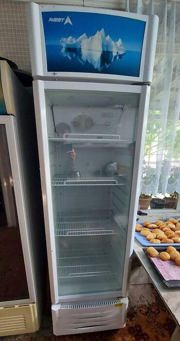 Электроника - Ош: Б/у Холодильник-витрина | Белый холодильник Avest