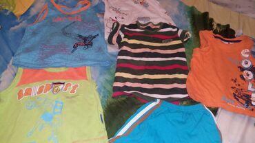 мужские шорты в Кыргызстан: На 2-3 года. 4 майки, шорты, футболка, все за 150 сом